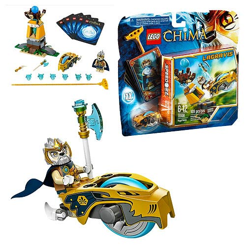 Give Your Legends of Chima LEGO Armies a Royal Boost!