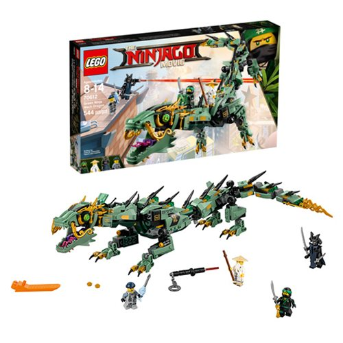 LEGO Ninjago Movie in Theaters This Week