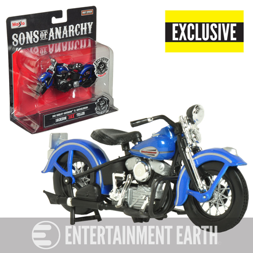 Sons of Anarchy Final Ride 1946 Harley-Davidson FL Knucklehead 1:18 Scale Motorcycle - Entertainment Earth Exclusive