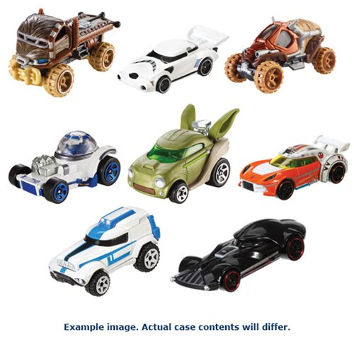 Star Wars Hot Wheels 1:64 Character Car Case Wave 8