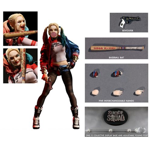 It's a Mezco One:12 Figure of Harley Quinn, Puddin'!
