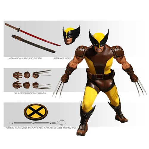 Wolverine Slashes His Way into One:12