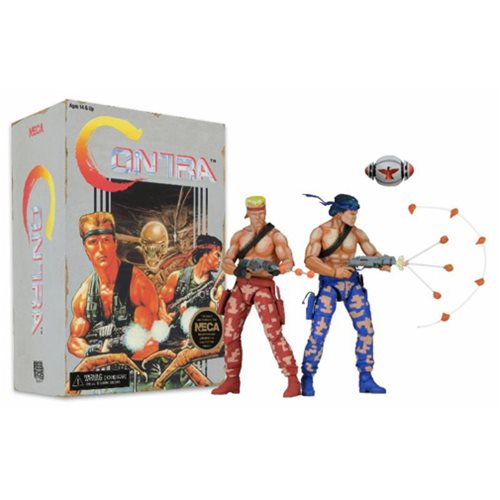 Contra Bill and Lance Video Game Action Figure 2-Pack