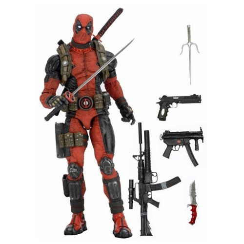 Put Down Your Taco and Grab This Deadpool 18-Inch Action Figure!