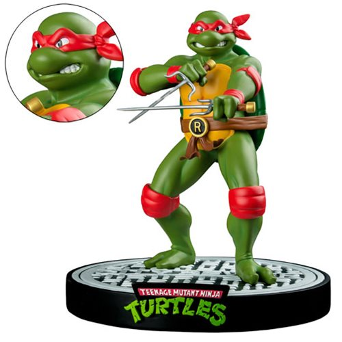 Retro Raphael Is Ready to Fight!