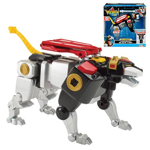 Voltron Classic Black Lion Combinable Action Figure