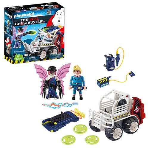 The Real Ghostbusters Go Playmobil