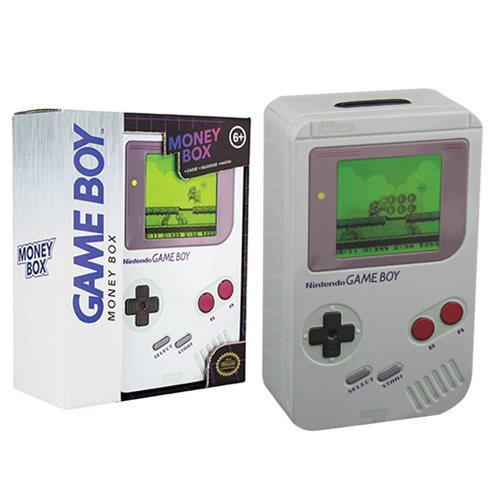 Nintendo Game Boy Money Box Bank