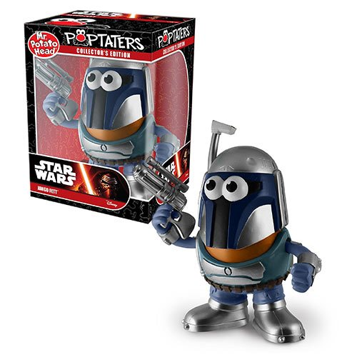 Star Wars Jango Fett Poptaters Mr. Potato Head