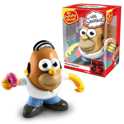 Doh! Homer Simpson Is a Potato!