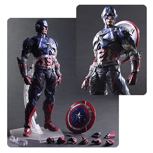 Daily Deal - Astonishing Captain America Figure - 53% Off!