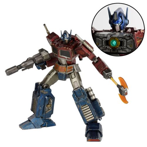 Optimus Prime Figure Is More Than Meets the Eye!