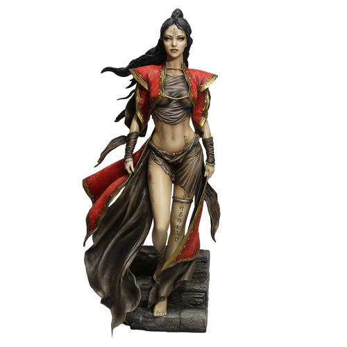 Statue of the Beautiful Heroine of Dead Moon