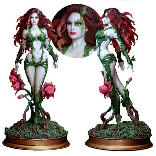 Go Green with Poison Ivy Variant Statue