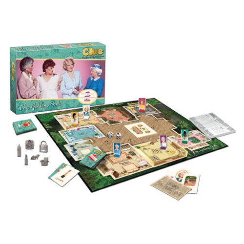 Golden Girls Get a Clue (Game)