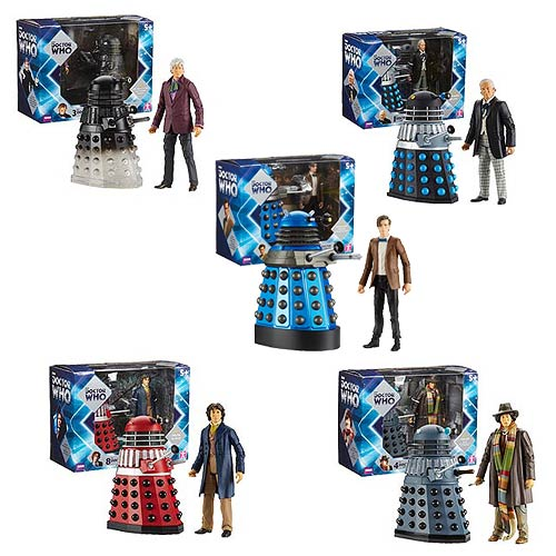 Daleks with Your Favorite Doctors!