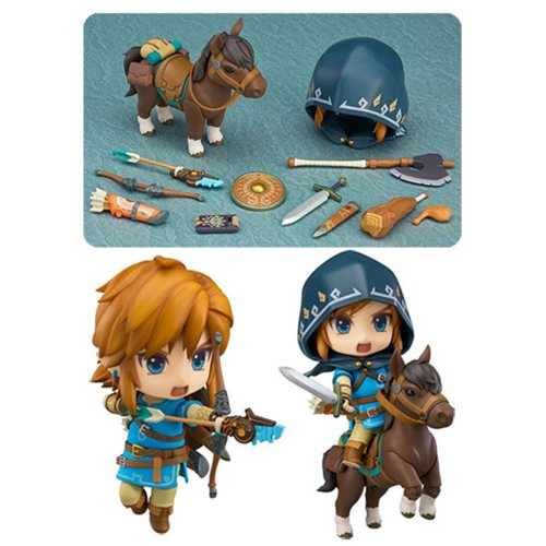 New Legend of Zelda Nendoroid Comes with a Horse!