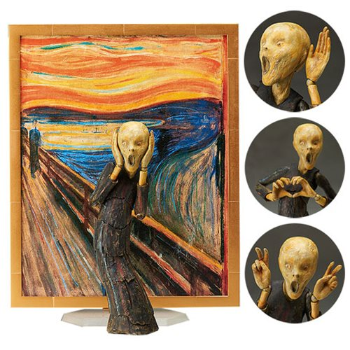 The Scream Figma Action Figure