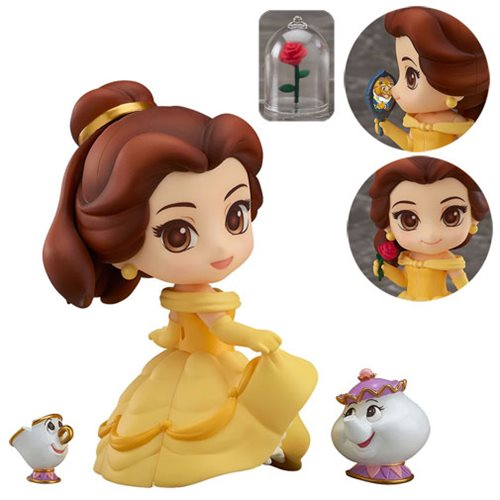 Awesome Japanese Beauty and the Beast Figure