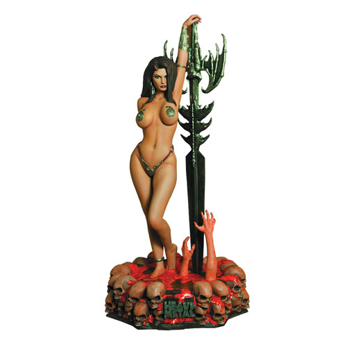 Get Free Shipping on Heavy Metal Statue