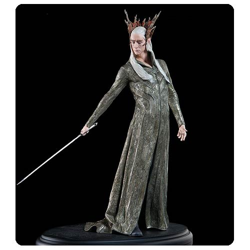 Elven Sculpture from The Hobbit Will Keep Your Shelves Safe!