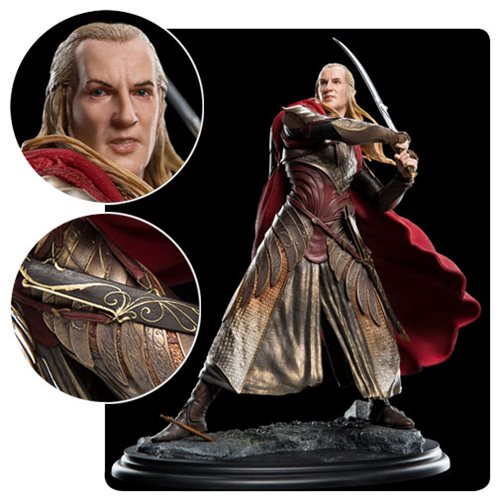Awesome Lord of the Rings Haldir Statue!