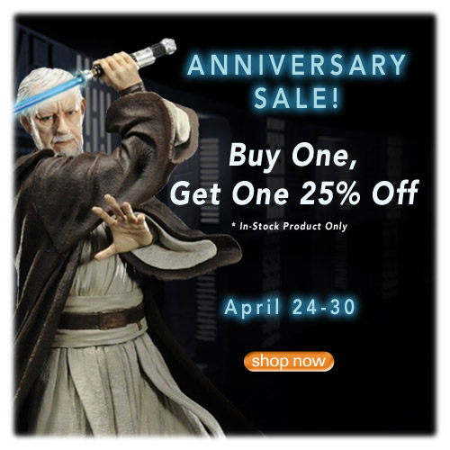 Anniversary Sale - Entertainment Earth Has Over 7,000 Items On Sale!