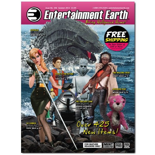 Entertainment Earth's New Summer 2014 Catalog!