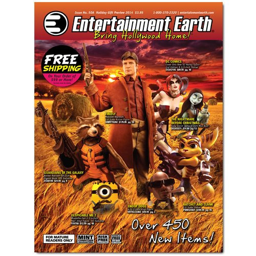 New Entertainment Earth Catalog Available Now!