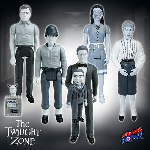 Black-and-White Variant Figures from The Twilight Zone
