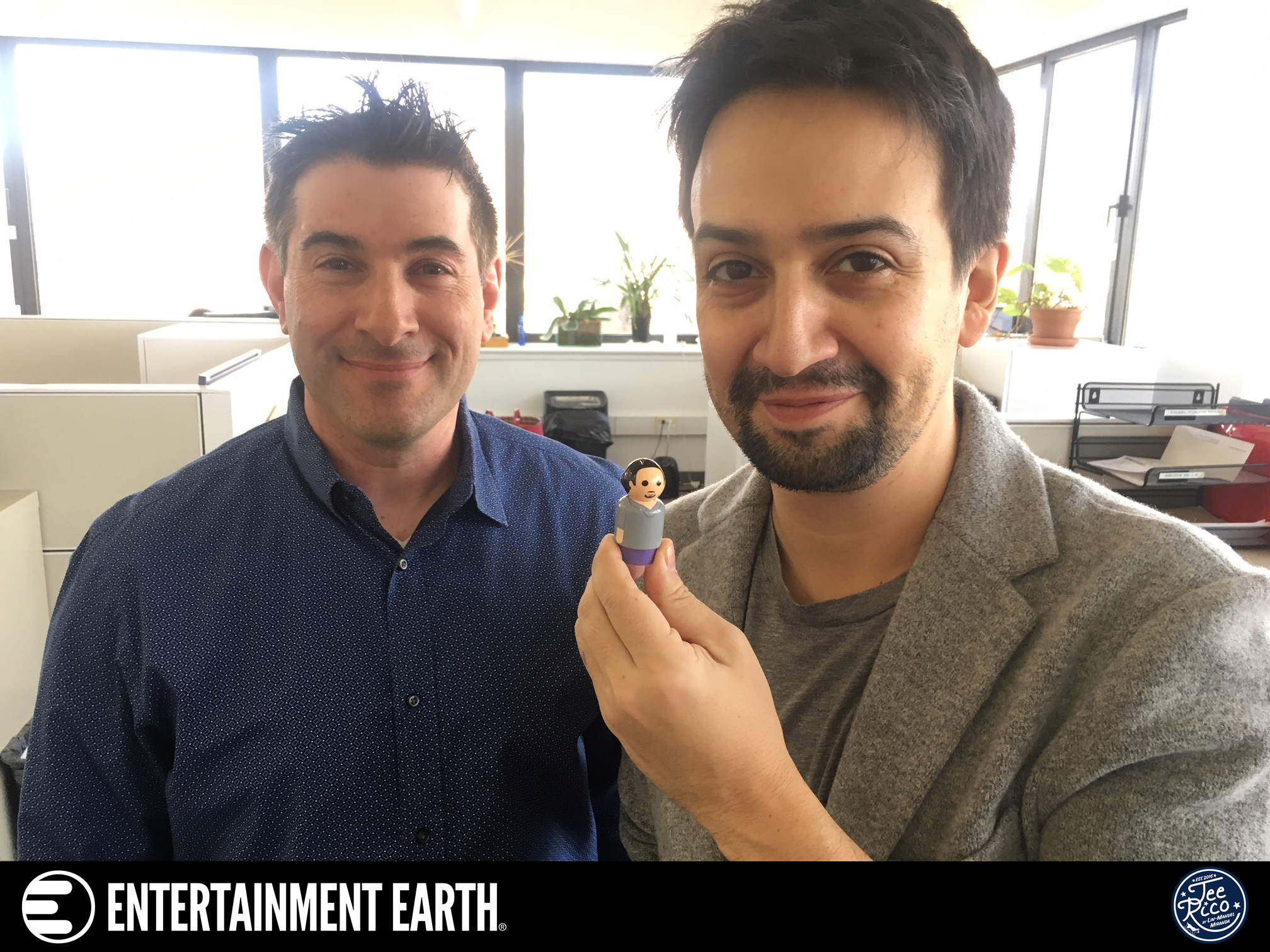 Lin-Manuel Miranda and Jason Labowitz Celebrate Launch of New Collectibles