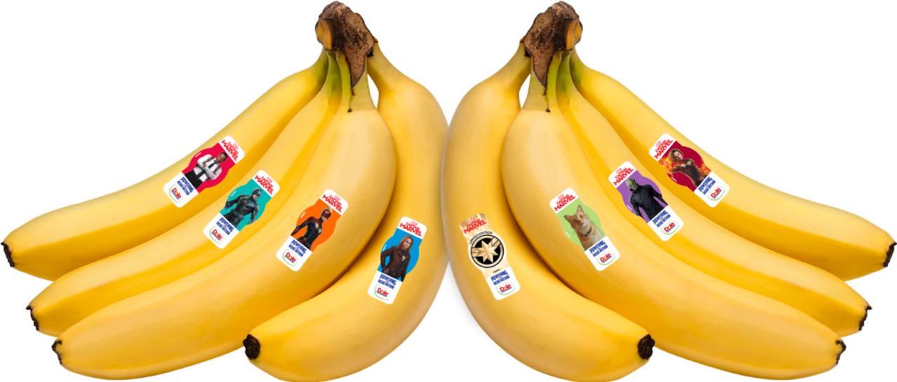 Captain Marvel Bananas