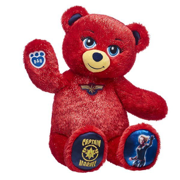 Captain Marvel Build  A Bear