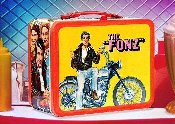 Captain Marvel Fonz Lunchbox
