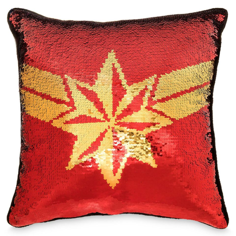 Captain Marvel Pillow