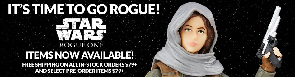 Rogue One Items Now Available!