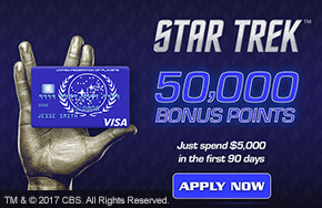 Check Out the Official Star Trek Credit Cards!