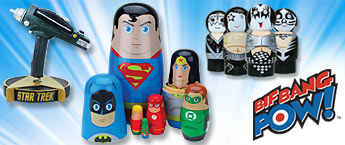Bif Bang Pow! collectibles