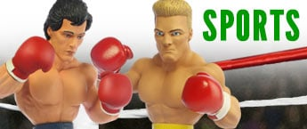 Sports Action Figures, Statues, and Toys!