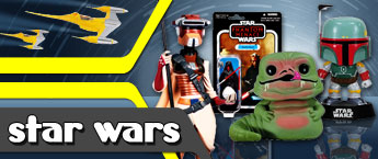 Star Wars Toys, Action Figures, and Bobble Heads!