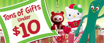 Hundreds of Gifts, Under $10!