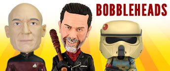 TV, Movie, and Cartoon Bobble Heads!