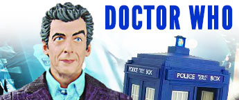 Doctor Who Action Figures, Statues, Toys, and More!