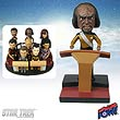Star Trek: TNG Worf Build-a-Bridge Deluxe Bobble Head