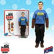 Big Bang Theory Sheldon w/Vintage Batman Shirt 8-Inch Figure
