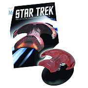 Star Trek Starships Ferengi Marauder Vehicle with Magazine