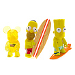 SDCC Exclusive Simpsons Qee Figure Set
