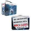 Jaws No Swimming Retro Style Tin Tote Lunch Box