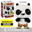 Kung Fu Panda Flocked Po Pop! Vinyl Figure - EE Exclusive