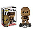 Star Wars Ep 7 TFA Chewbacca Pop! Vinyl Bobble Head